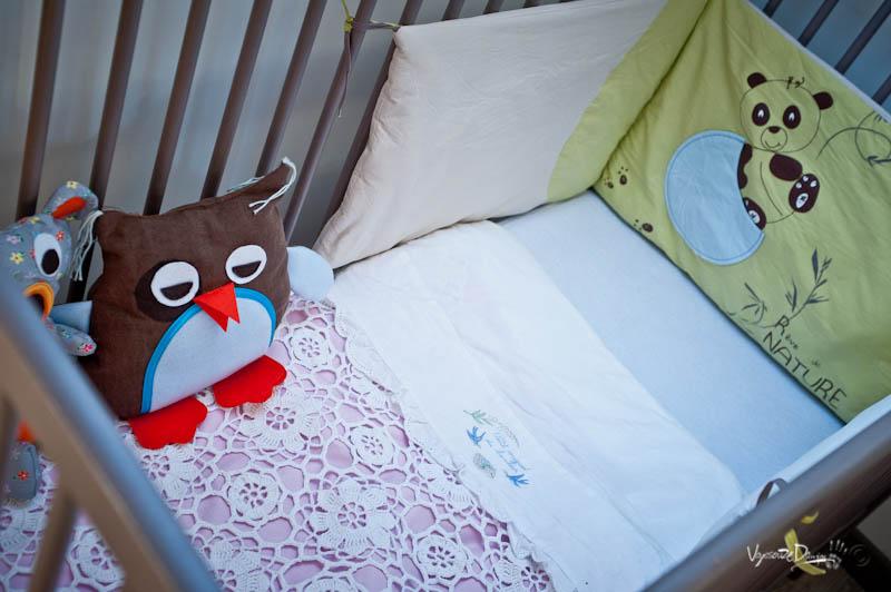 Le lit enfant et ses doudous