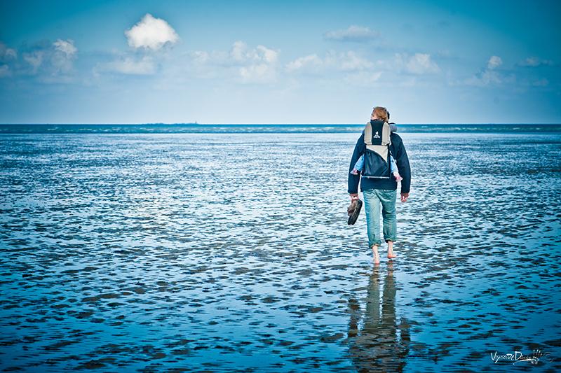 Binic à marée basse