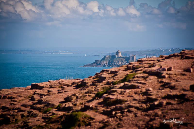 Cap Fréhel - vue sur Fort-la-Latte