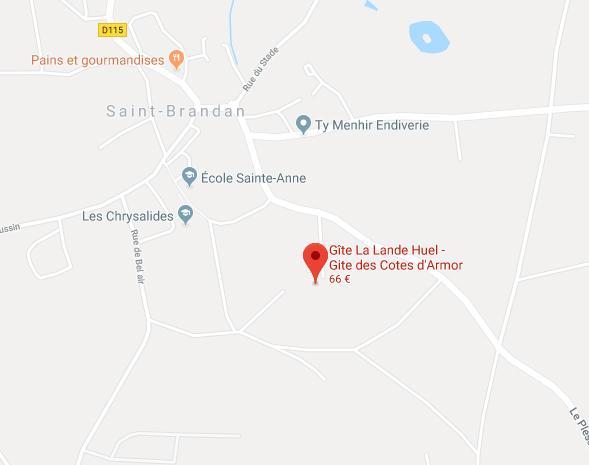 Plan d'accès - Google maps